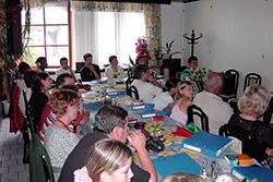 Gottesdienst im Gasthaus Egrieder
