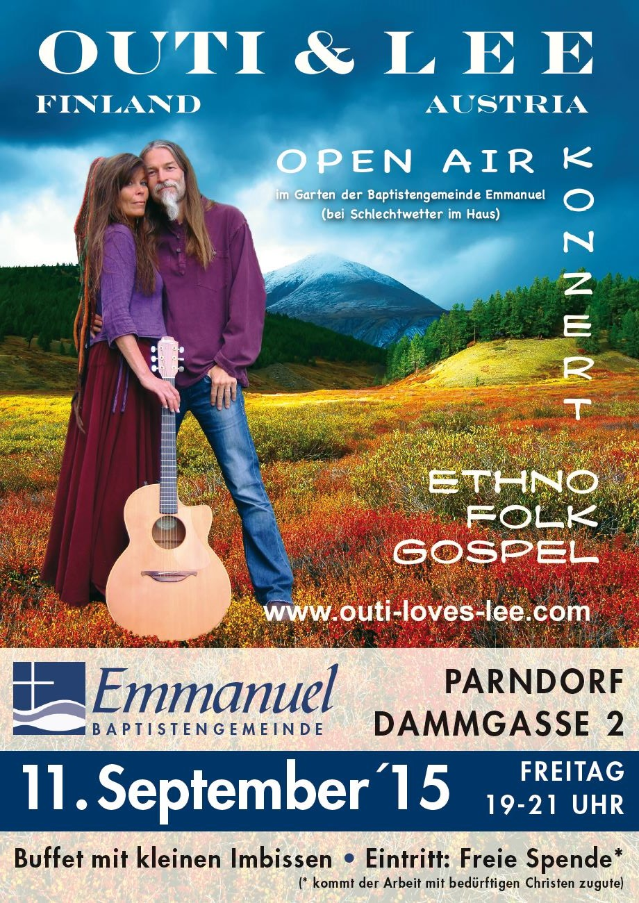 Open Air Konzert mit Outi & Lee