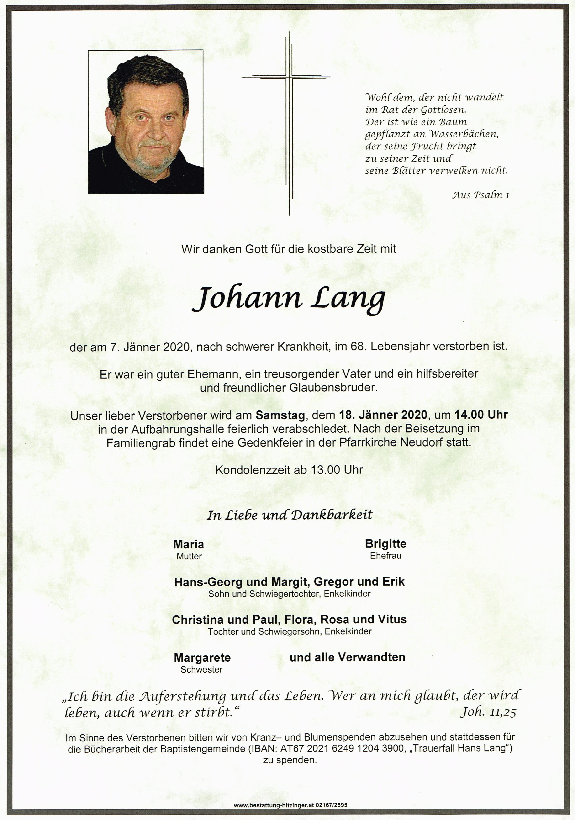Parte Hans Lang